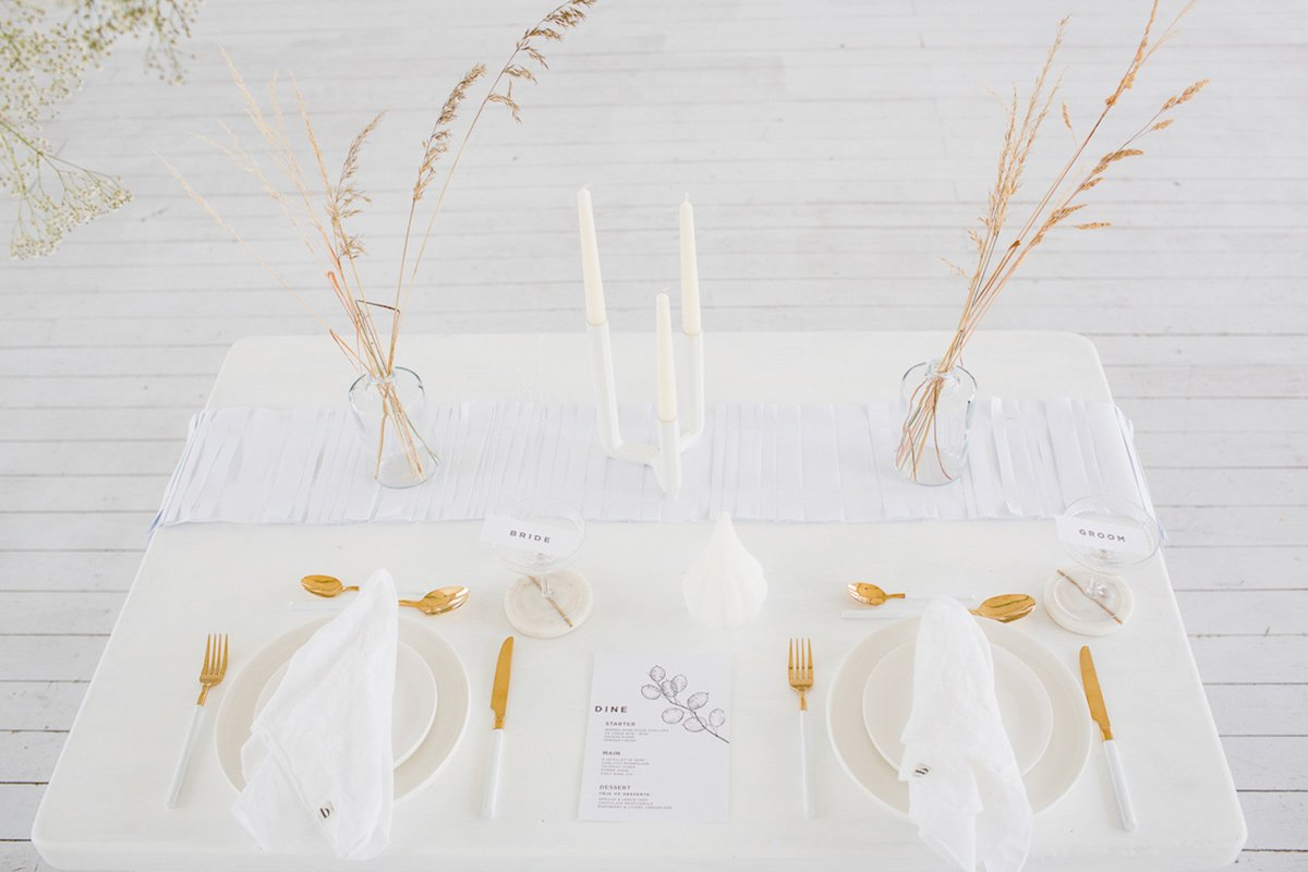 Funky-Creative-All-White-Wedding-Inspiration-The-Vintage-House-That-Could-3