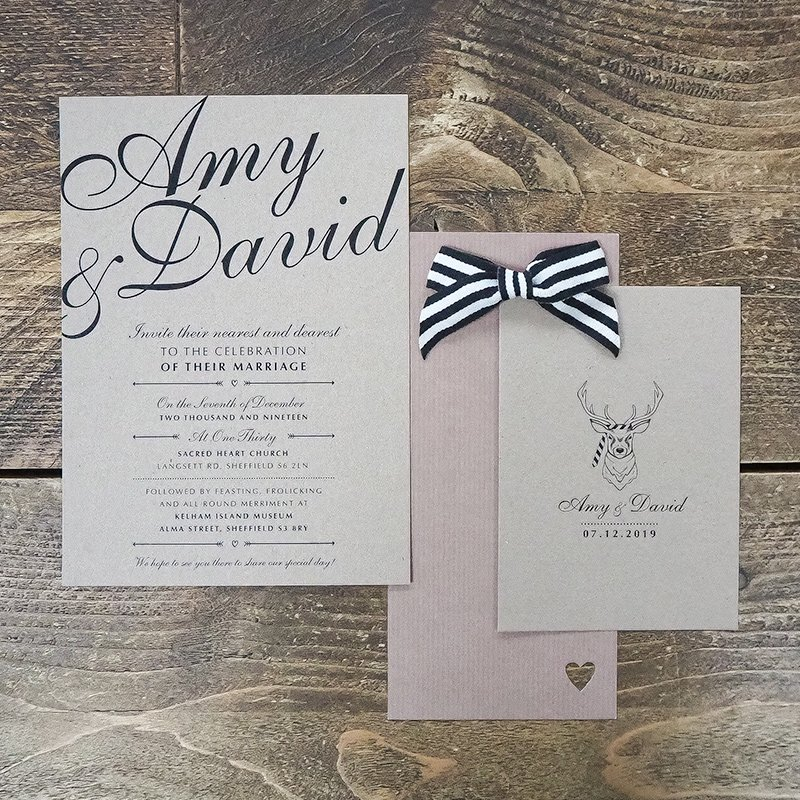 amy and dave wedding stationery 3