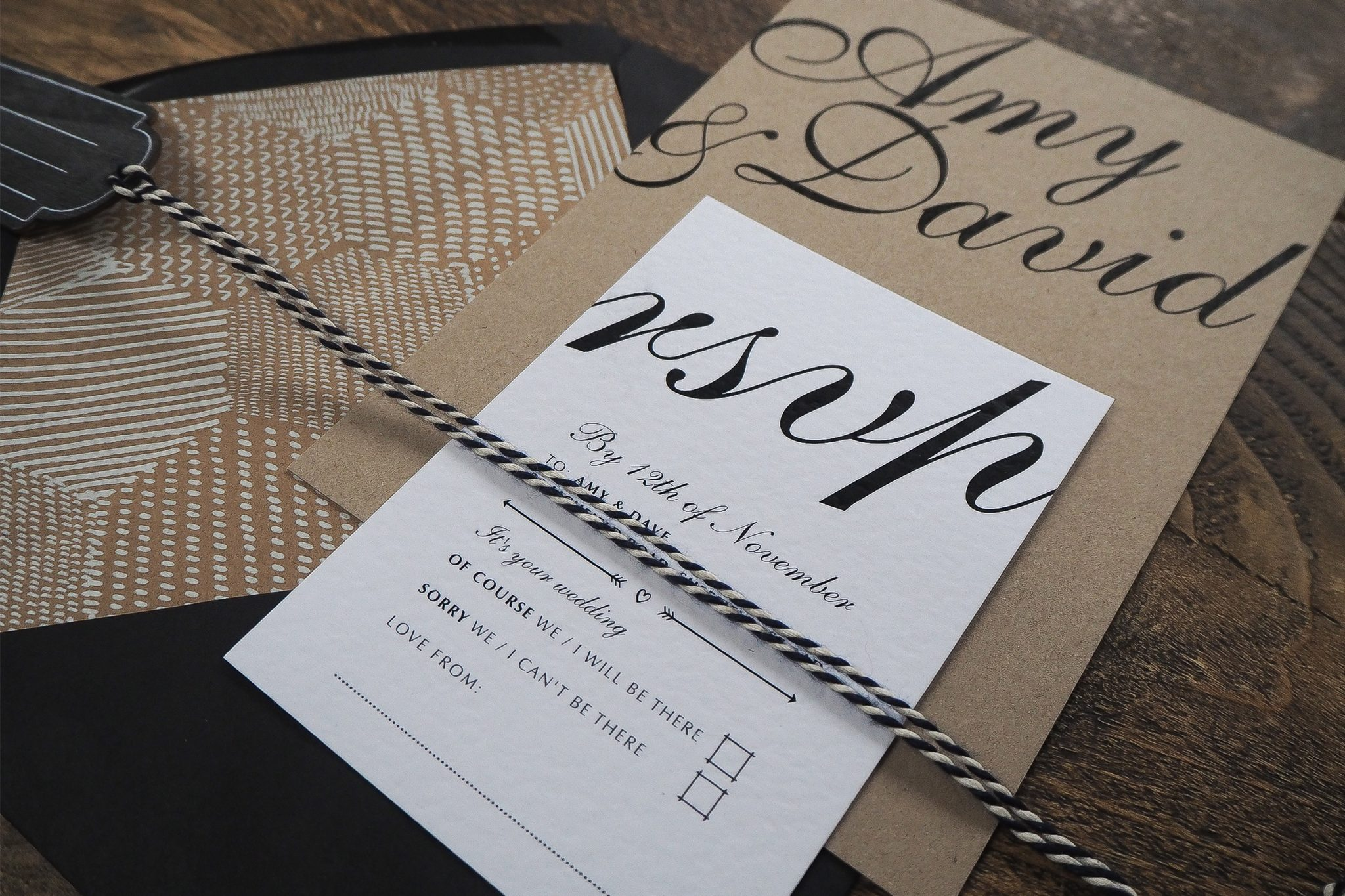 amy and dave wedding stationery 5