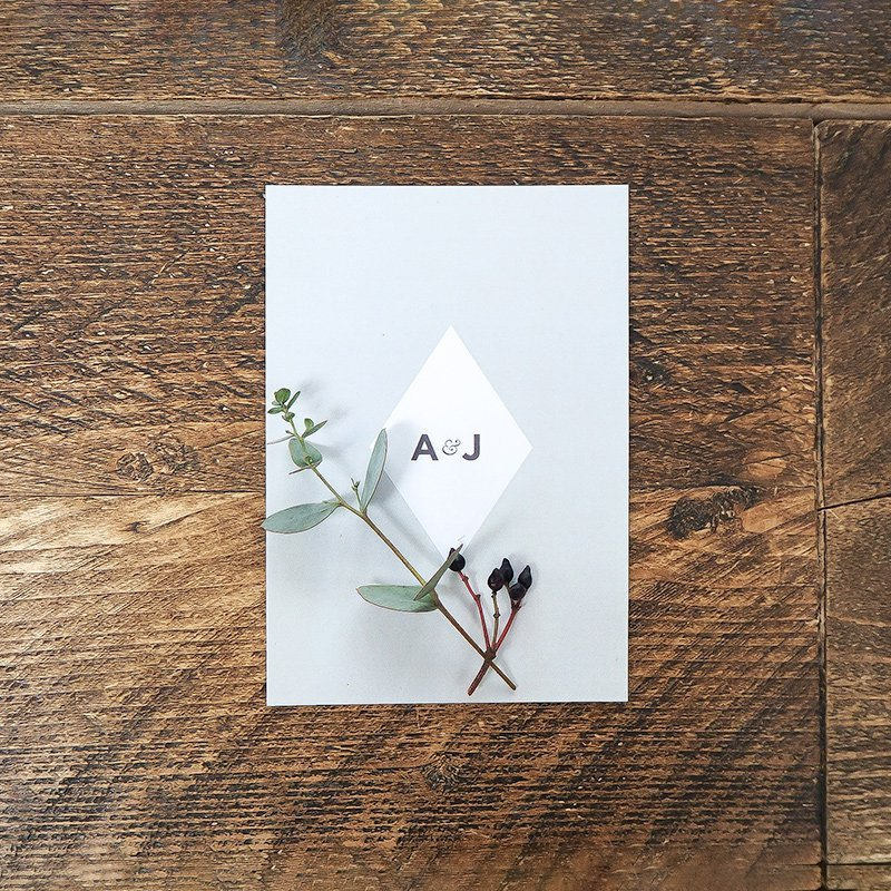 anna and james wedding stationery 2