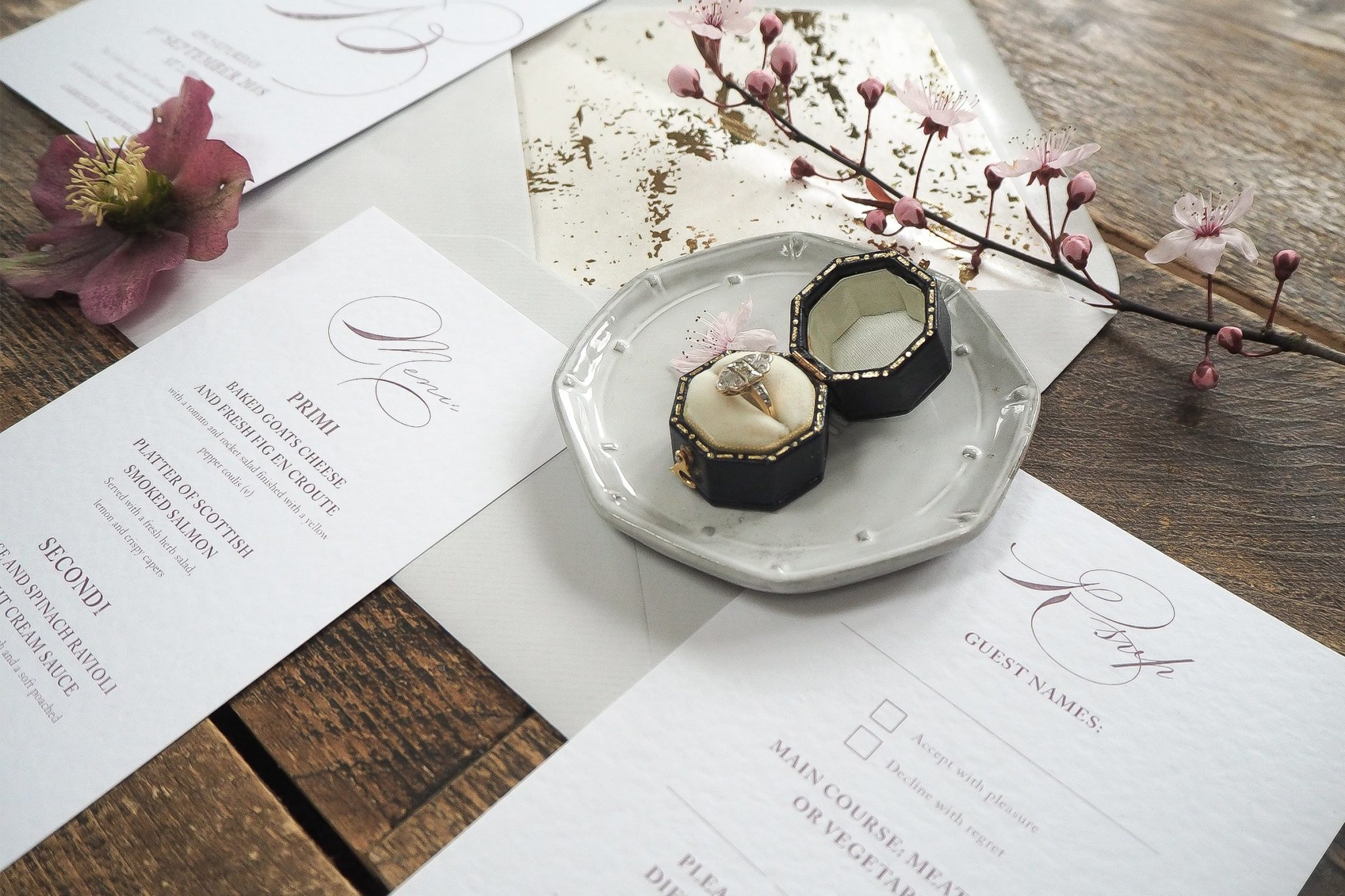 caroline and bradley wedding stationery 4