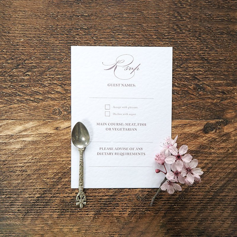 caroline and bradley wedding stationery 7