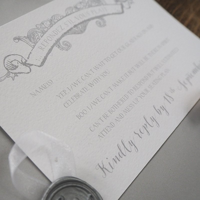 caroline and matthew wedding stationery 3