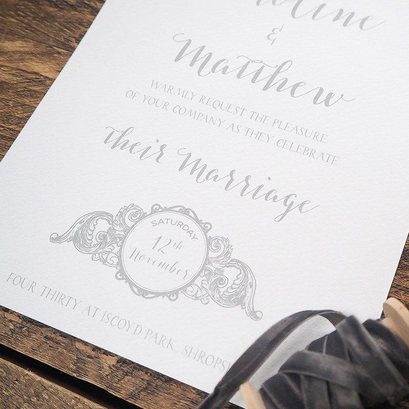 caroline and matthew wedding stationery 6