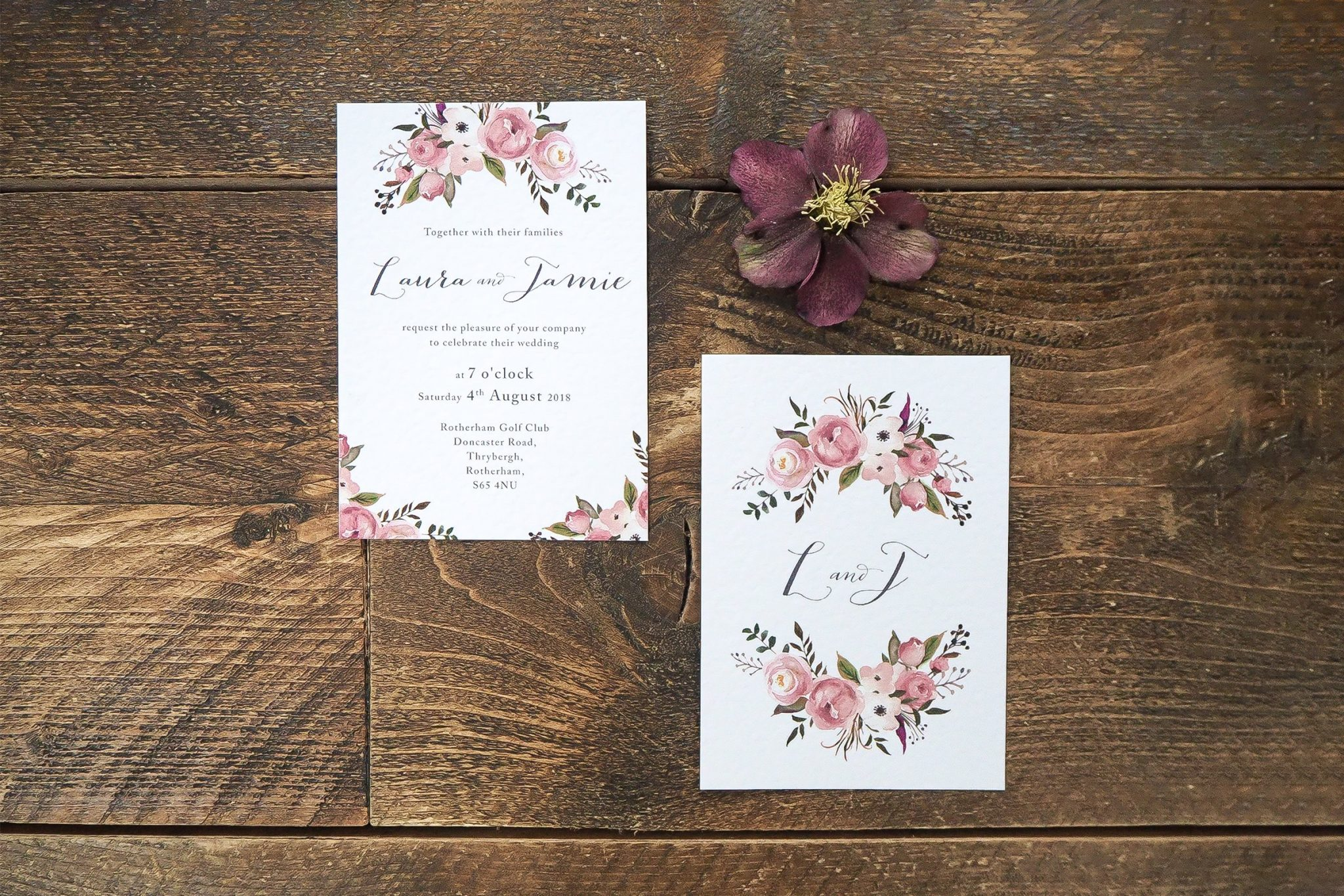 laura and jamie wedding stationery 5