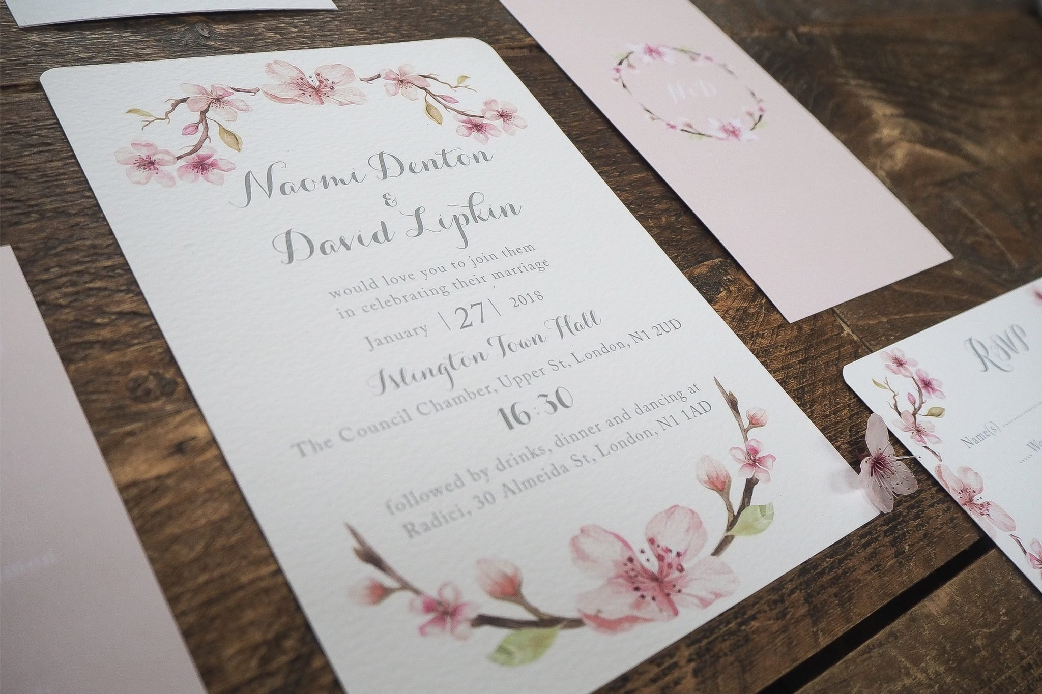 naomi and david wedding stationery 2