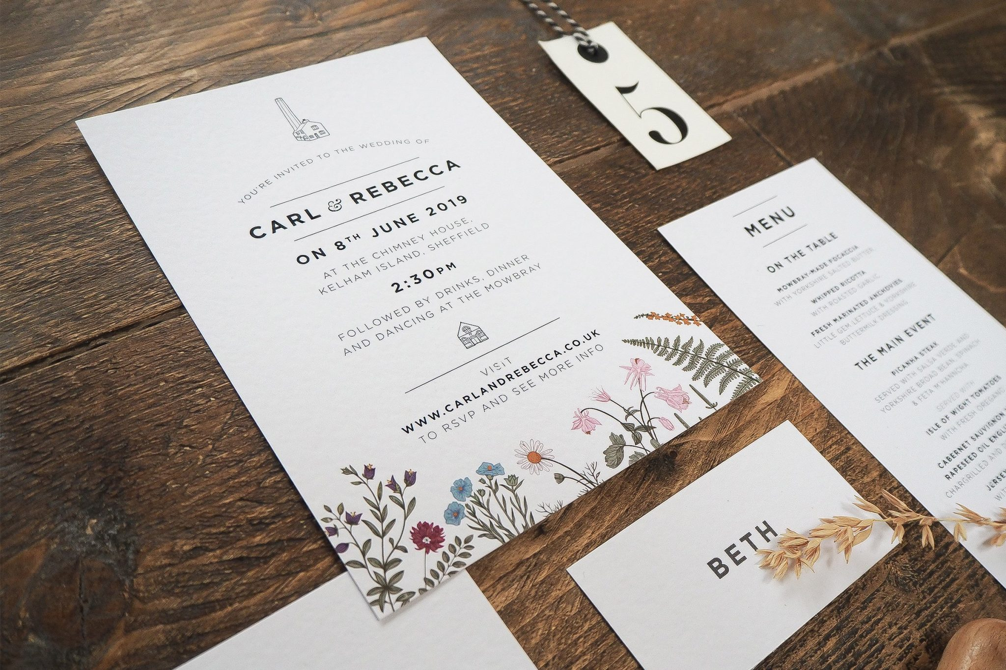 rebecca and carl wedding stationery 4