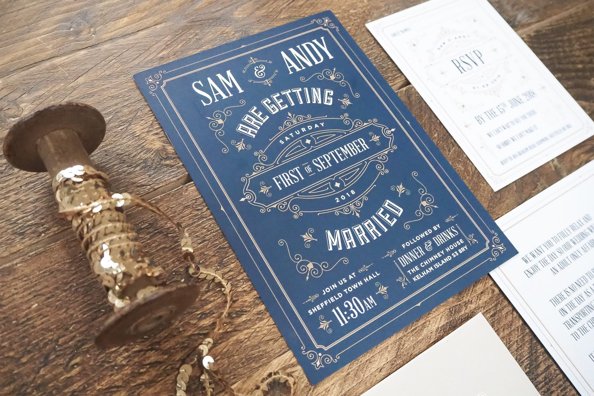 sam and andy wedding stationery 3